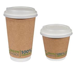 green choice cups