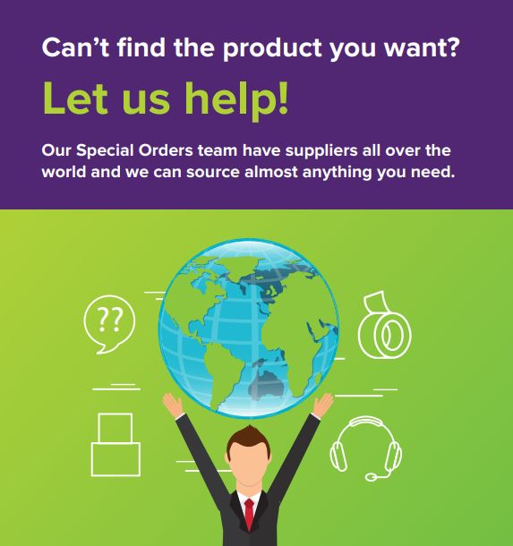 Looking for product but can not find it, let the team at Primepac scour the world to find the product you need.